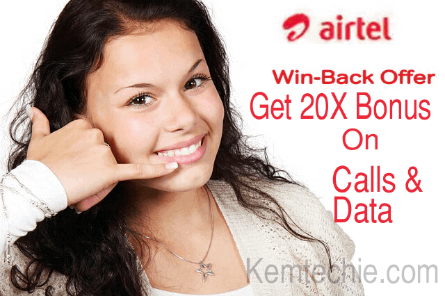 Airtel 20X Recharge Bonus With N100 Get N2000+Data Bundle