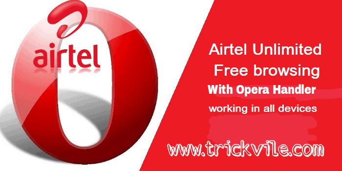Airtel Free Browsing Cheat With Opera Handler Configuration
