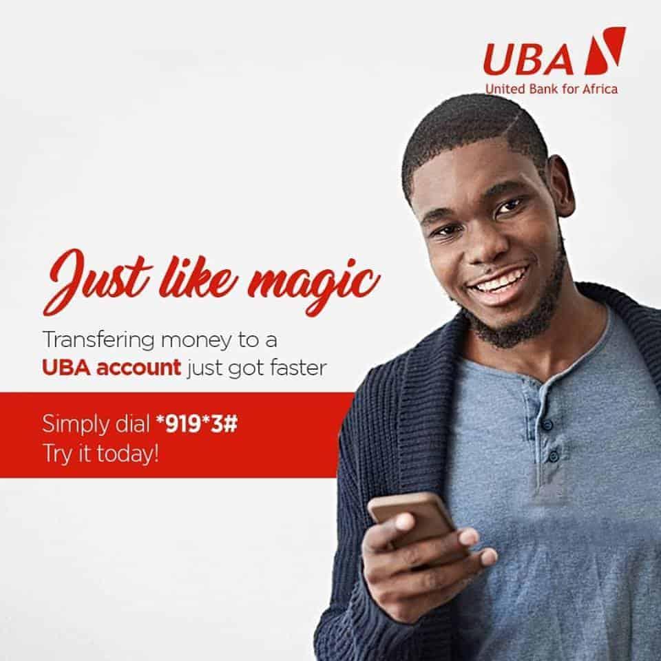 UBA Magic Banking transfer codes
