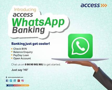 Access Bank WhatsApp Magic Banking