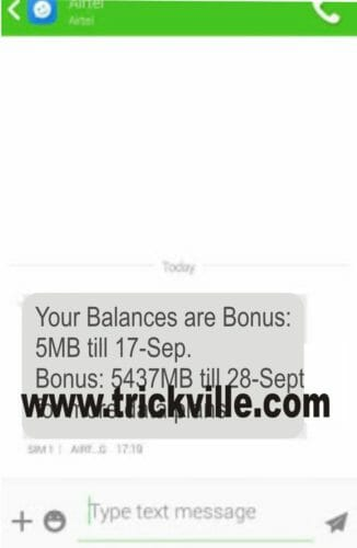 Free airtel data cheat ( Get 2GB for N100 and 10GB for N500)