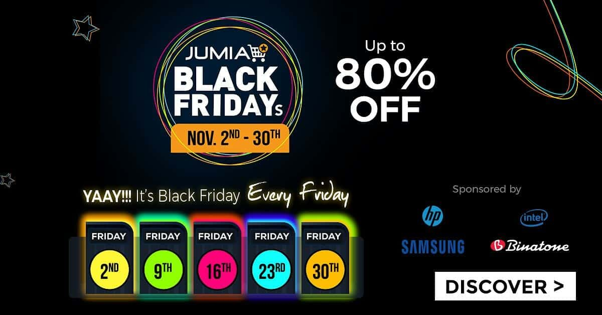 Jumia Black Friday 2019 - All You Need To Know
