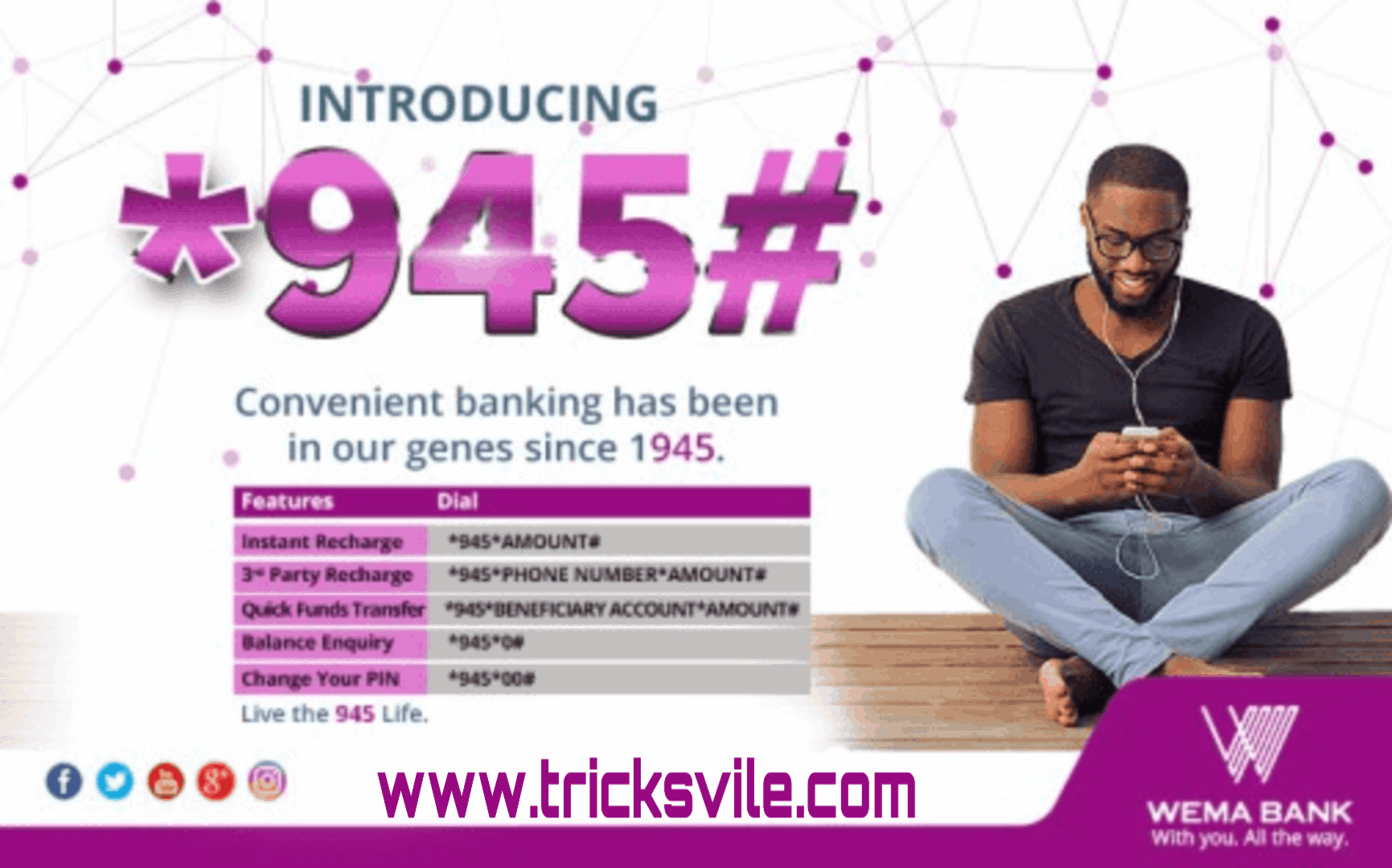 How To Send Money With Wema Bank Transfer Code On Phone 2019