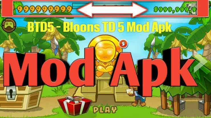 Bloons TD 6 mod apk