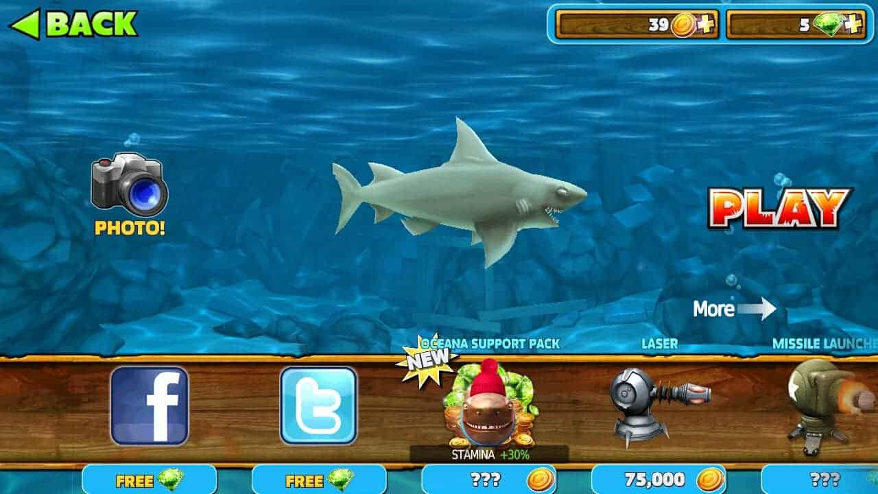 Hungry-Shark-Evolution Mod