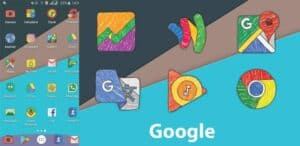 Crayon icon pack apk