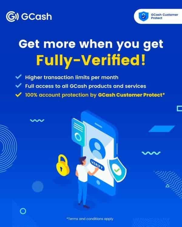 GCash Verification tricksvile.com