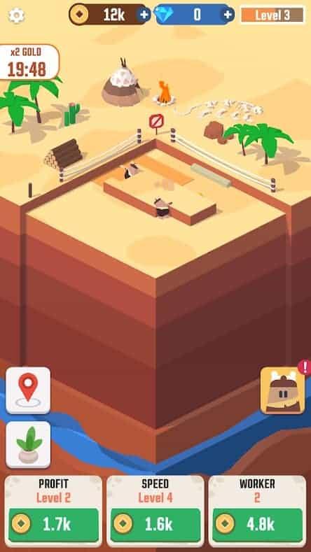 Idle Digging Tycoon Mod Apk