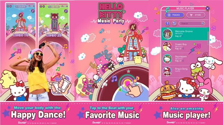 Hello Kitty Music Party Apk