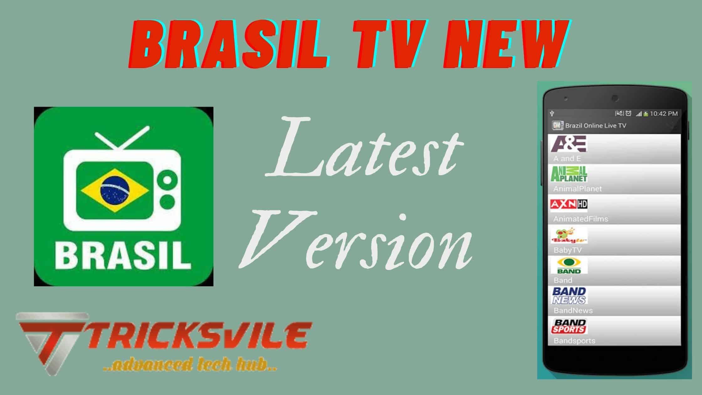 Brasil tv new mod apk